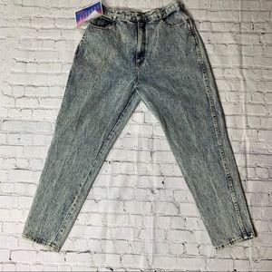 BNWT GITANO Acid wash Mom Jeans Size 14